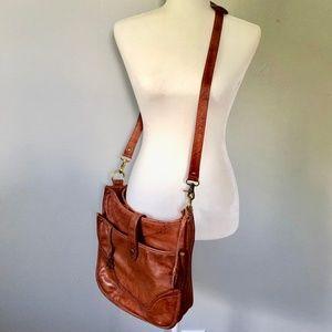 Frye Madison Genuine Leather Crossbody Bag